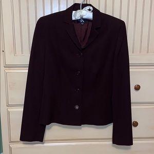Maroon Calvin Klein jacket